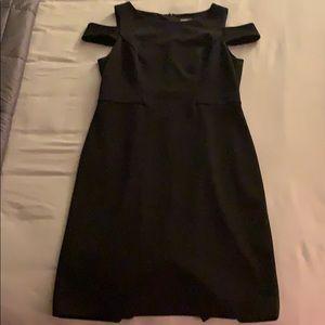 Black Vince Camuto Sleeveless Dress